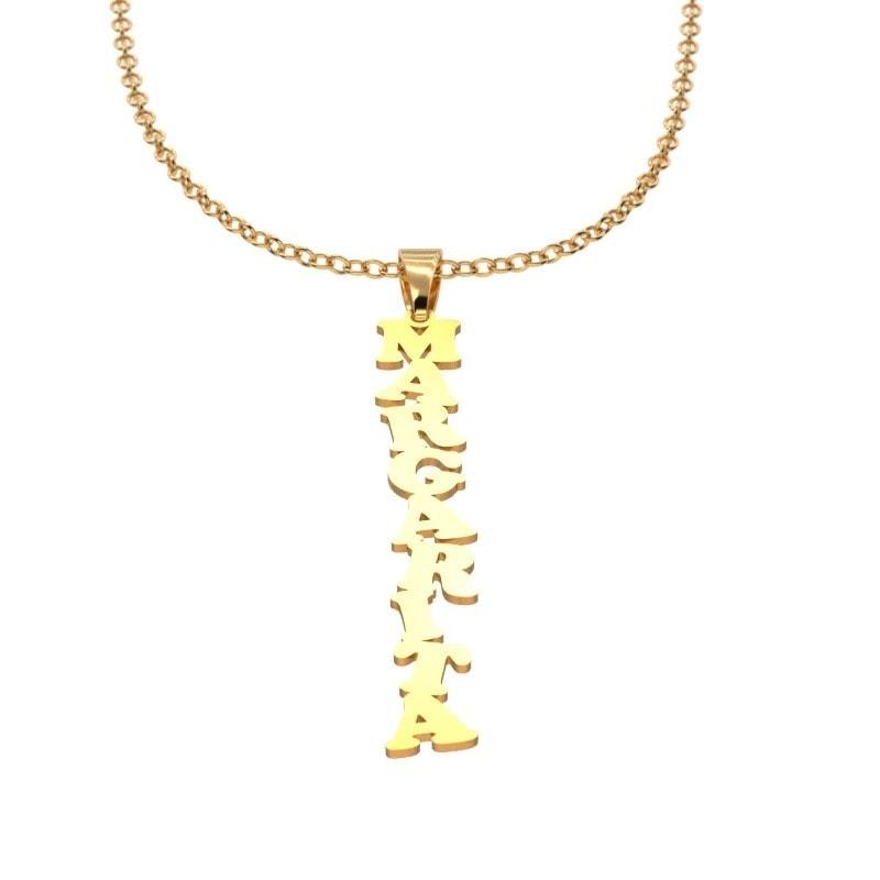 Collar de oro con tu nombre