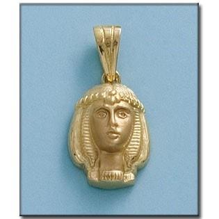 CABEZA EGIPCIA ORO 18KL DE 15X21MM